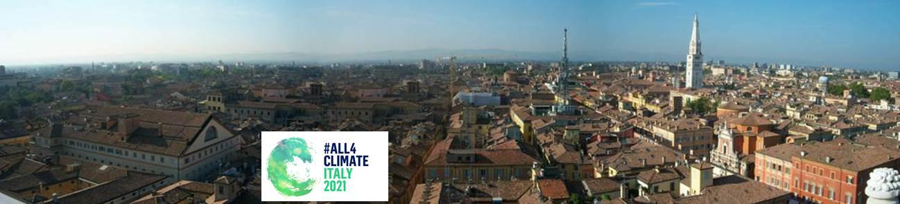 Viaggio nel tempo e nel clima di Modena